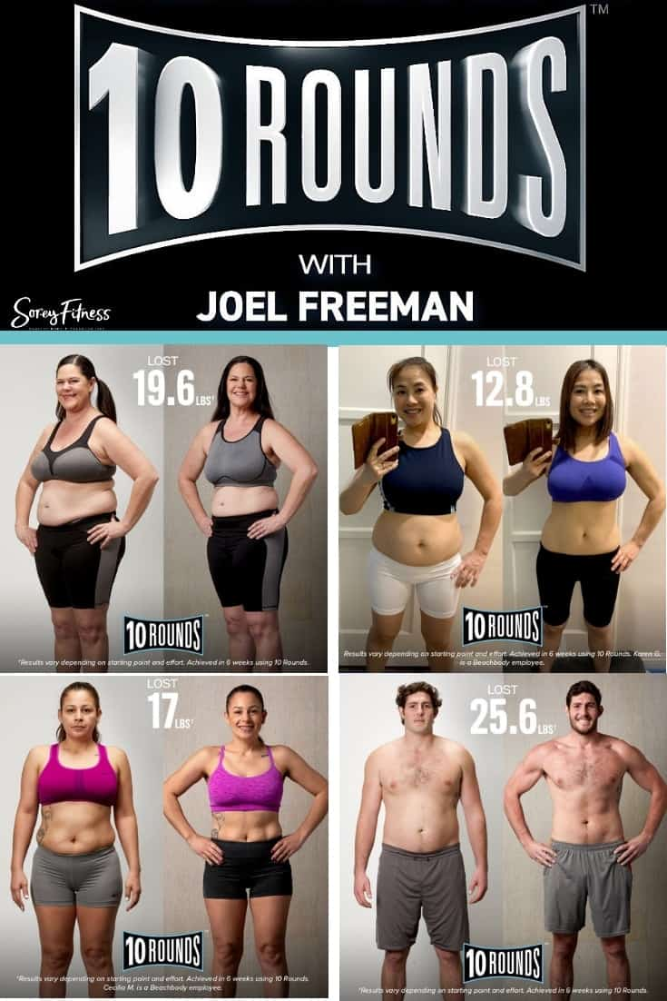 Collage of 10 rounds results