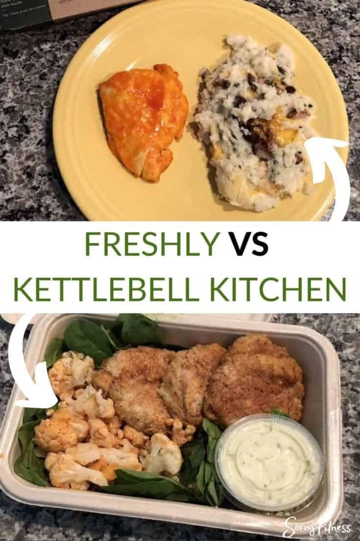 Freshly vs kettlebell kitchen meals