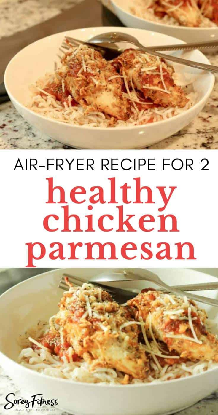 Healthy Air Fryer Chicken Crusted Parmesan Recipe