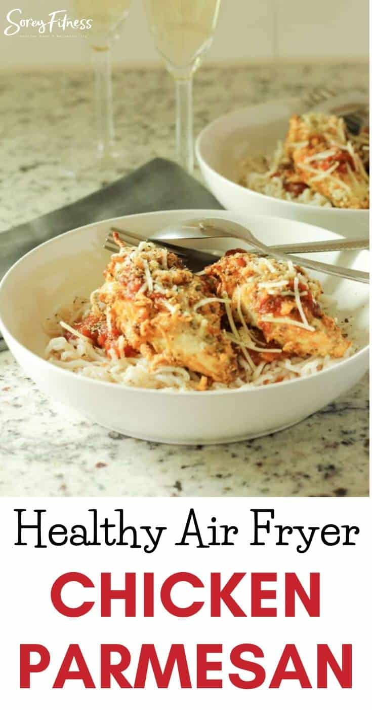 Low Carb Air Fryer Chicken Crusted Parmesan