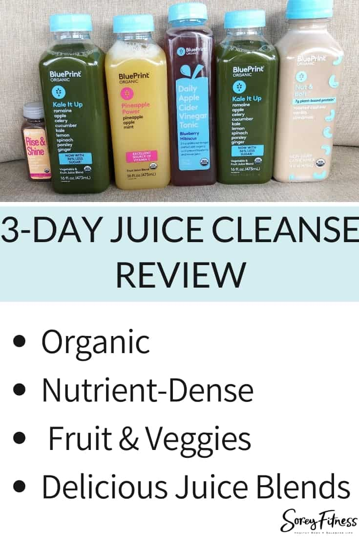 Juice Cleanse Review with Picture of Juice