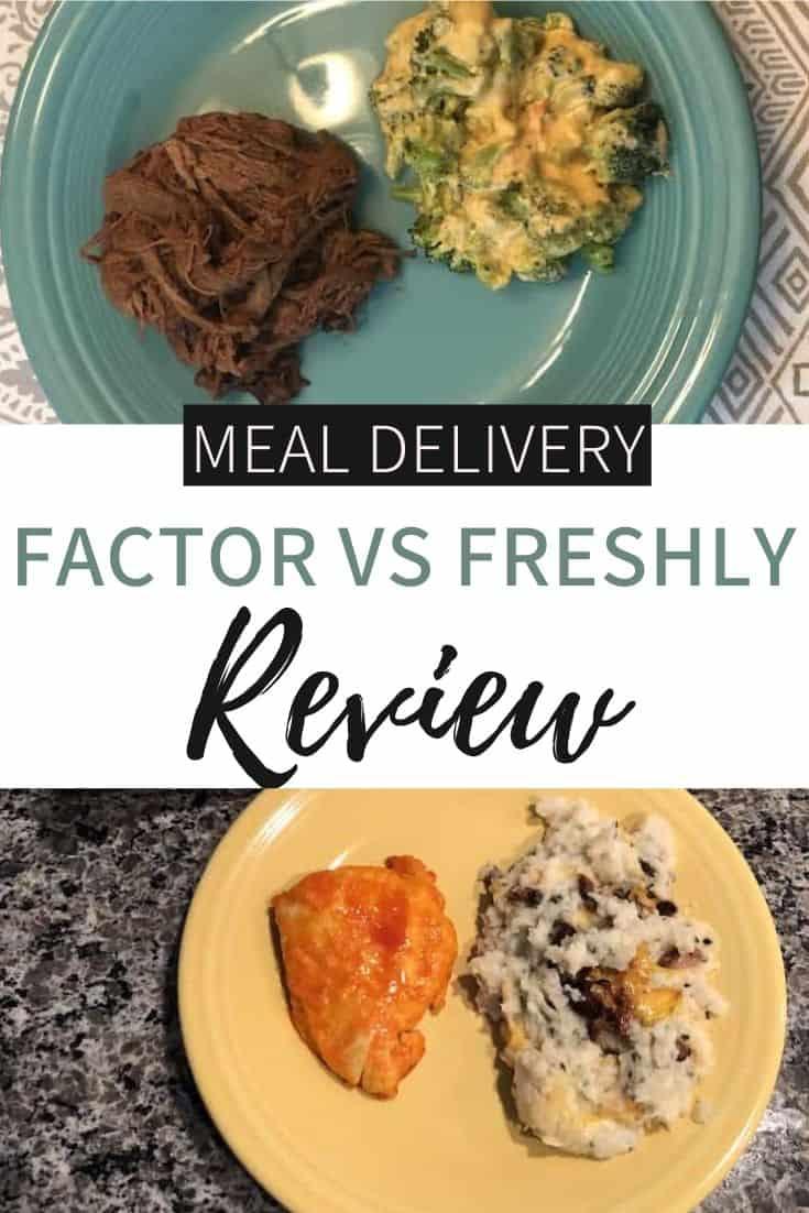 Freshly vs Factor Meals