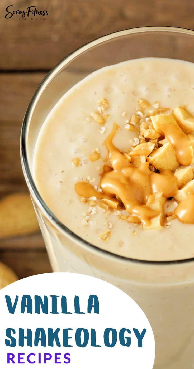 vanilla shakeology dessert recipes