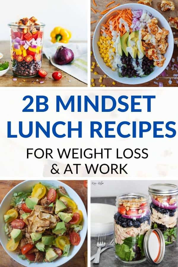 2b mindset lunch recipes