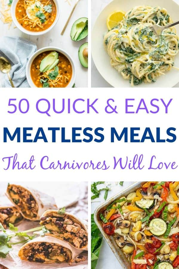 Healthy Meatless Recipes