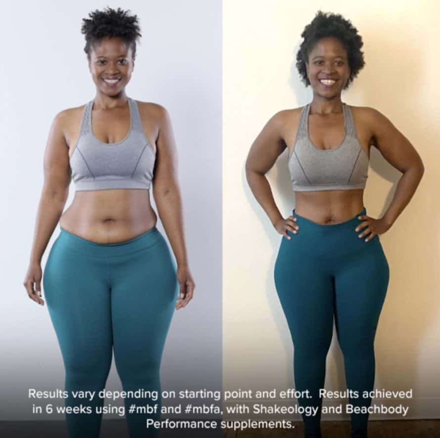 MBF Muscle Burns Fat Results Female