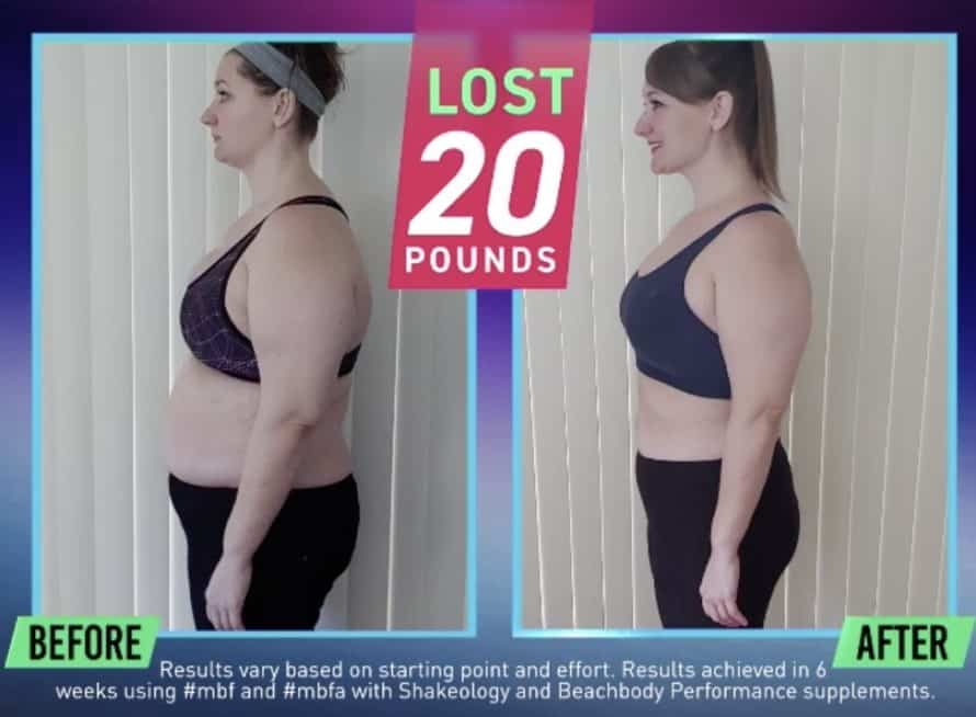 Muscle Burns Fat Results after 6 Weeks