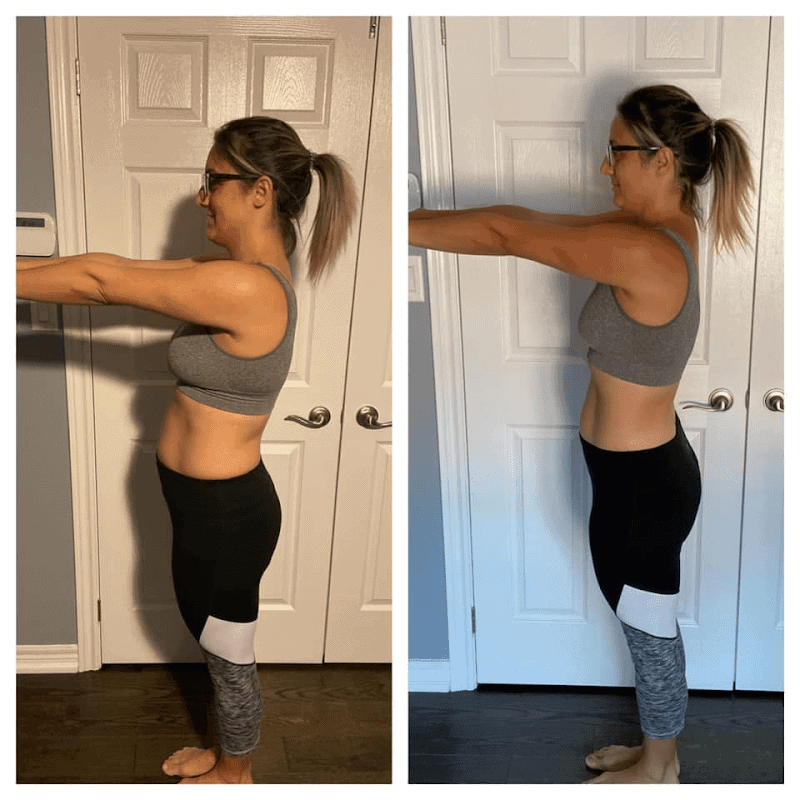 Muscle Burns Fat Before and After Photo 1