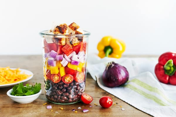 2B Mindset Salad Lunch Recipe