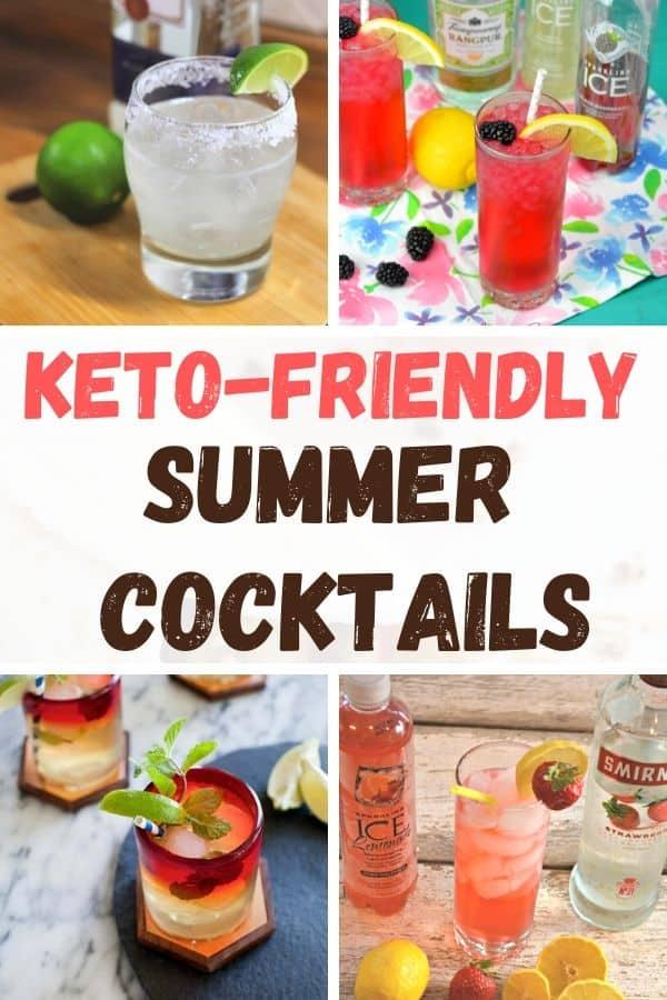 4 Summer Sparkling ICE Keto Cocktails