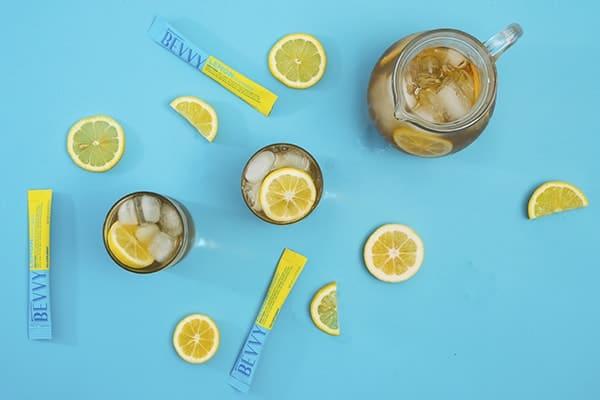 beachbody bevvy in lemon tea