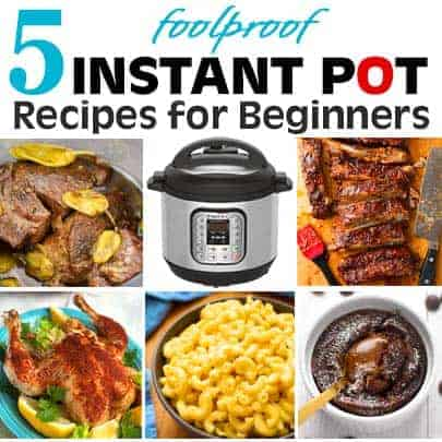 5 Easy Instant Pot Recipes for Beginners