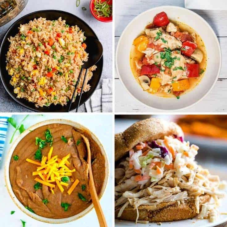 19 Healthy Beginner Instant Pot Recipes (Quick & Easy Dinners!)