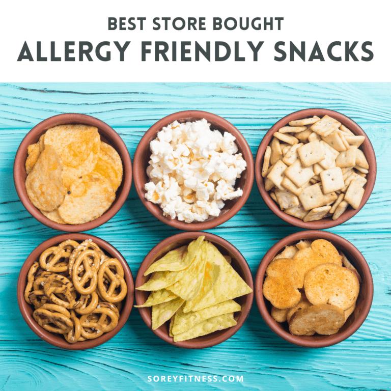Best Allergy Friendly Snacks & Top 8 Free Recipes to Enjoy!
