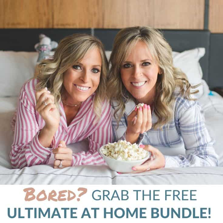 The Ultimate At Home Bundle – Recipes, Workouts, Crafts, and More!