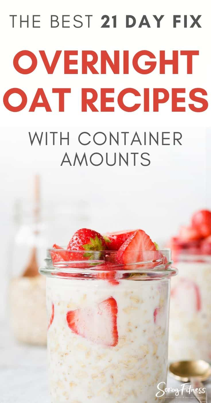 21 day fix overnight oat recipes