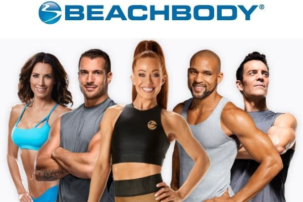 Beachbody Trainers together