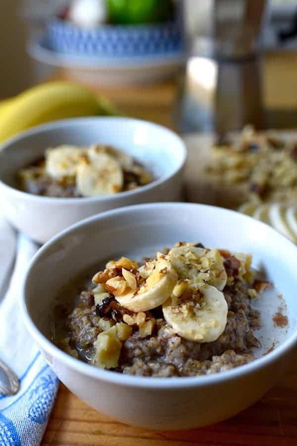 slow cooker banana bread oatmeal recipes