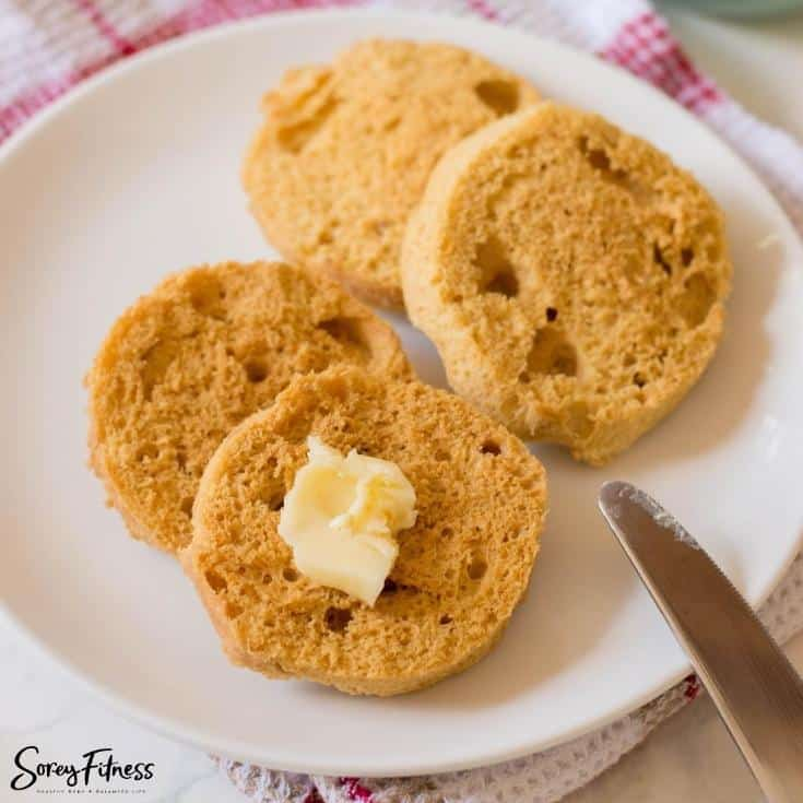 keto and gluten free english muffin