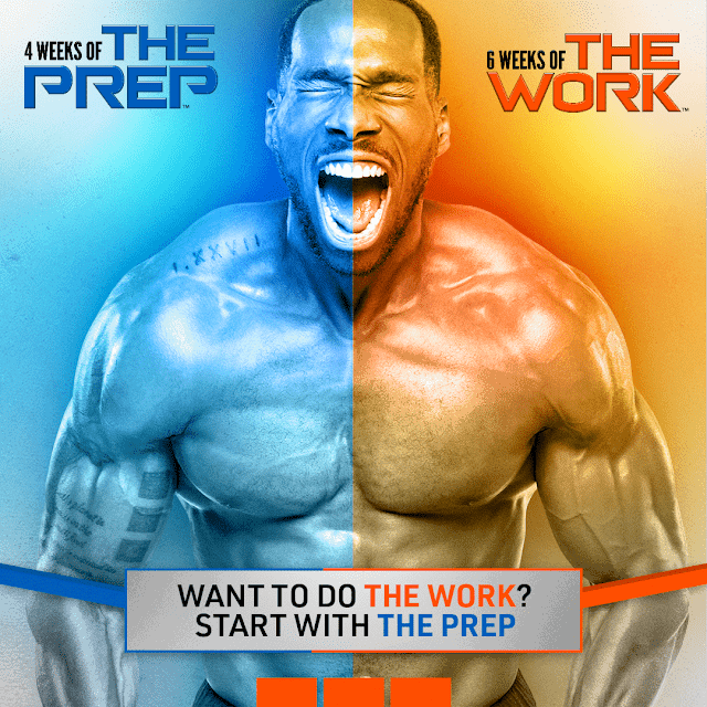 Beachbody's 4 Weeks of The Prep – What to do Before 6 Weeks of The Work
