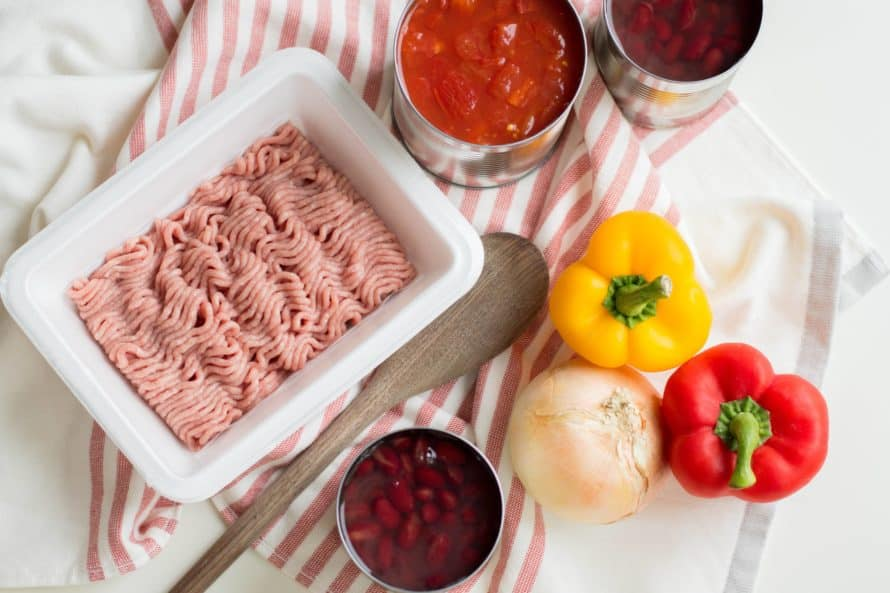 ingredients for 21 day fix turkey chili