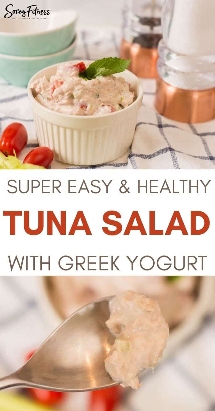 Easy Tuna Salad with Greek Yogurt