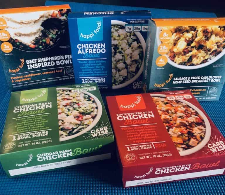 Keto & Low Carb Made Easy with Happi Foodi Meals!