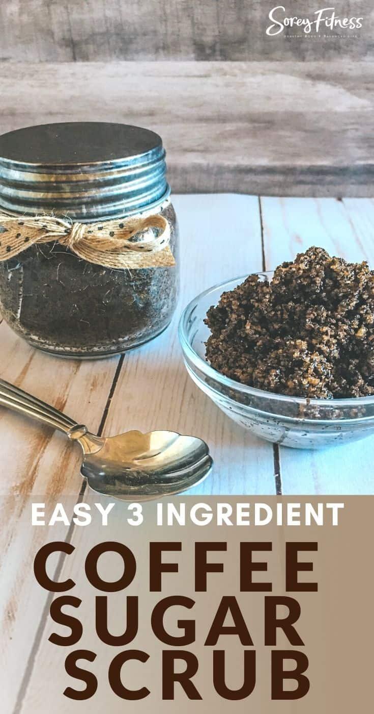 Easy DIY Coconut Oil & Coffee Sugar Scrub Recipe