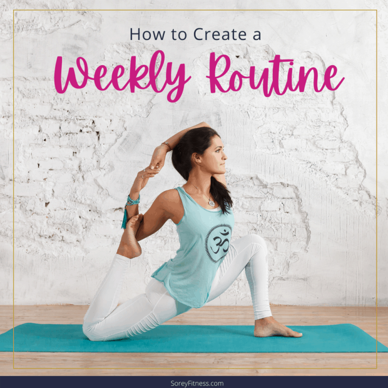 How to Create a Weekly Routine