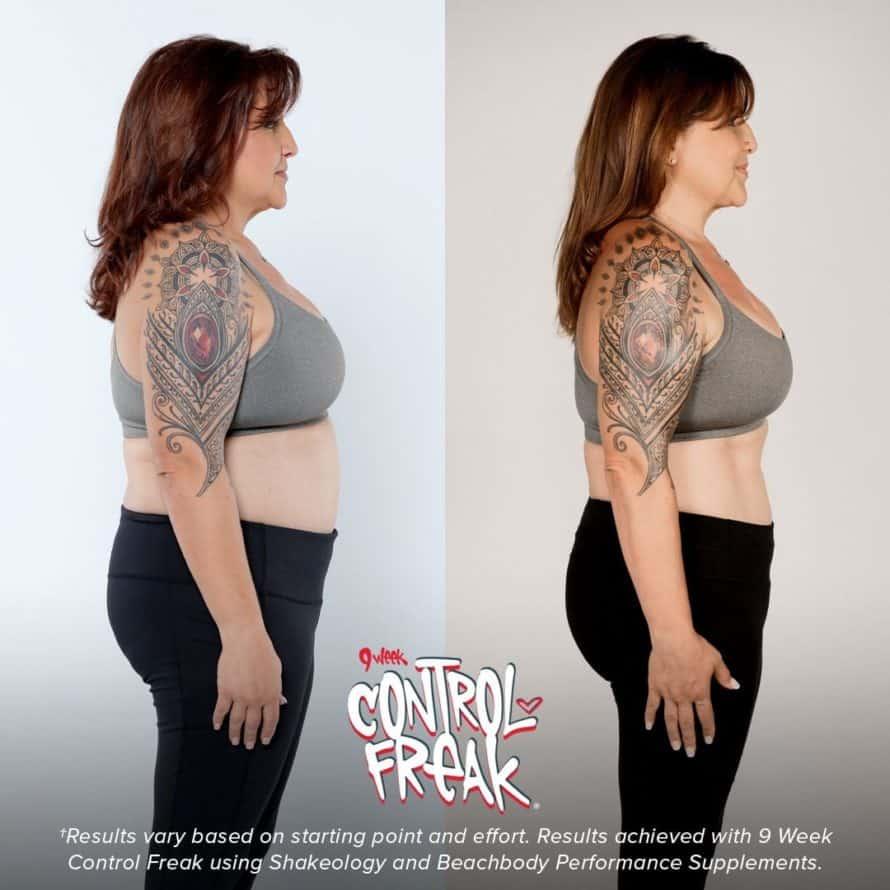 9 week control freak results