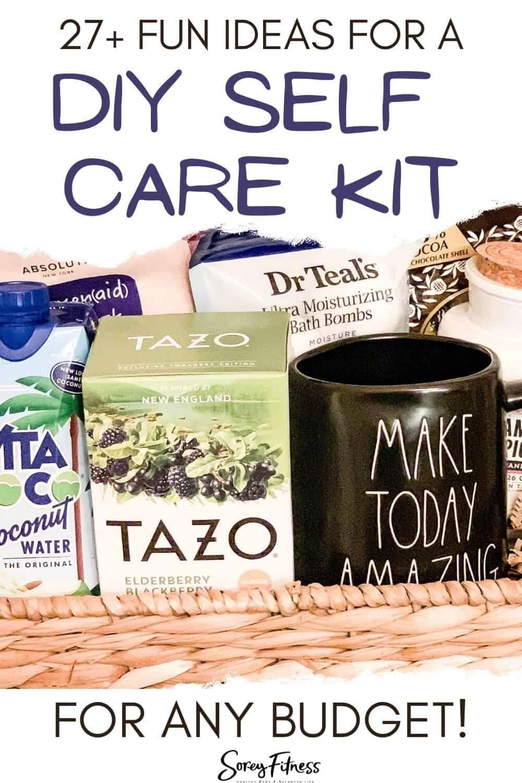 35+ fun ideas for a diy self care gift basket