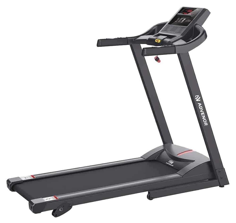 ADVENOR Treadmill Motorized Treadmills 2.5 HP Electric Running Machine Folding Exercise Treadmill
