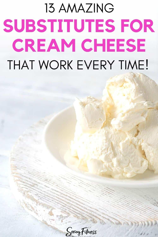substitutes for cream cheese