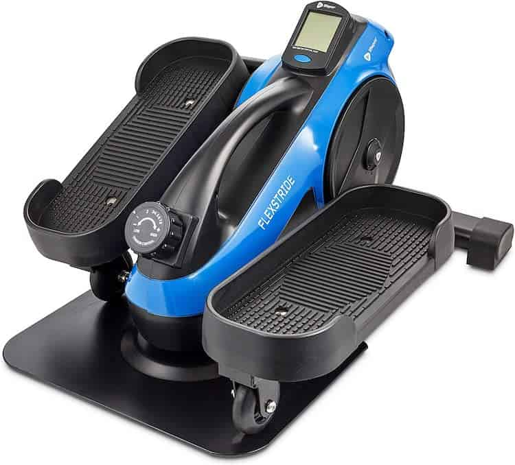 under desk elliptical for small spaces