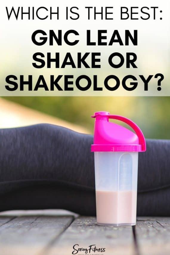 gnc shake vs shakeology
