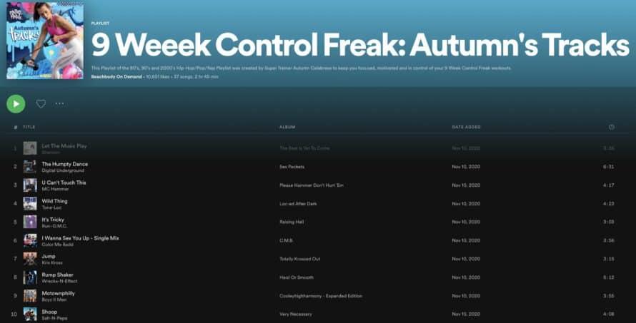 9 Week Control Freak Music