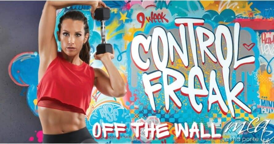 9 week control freak off the wall banner