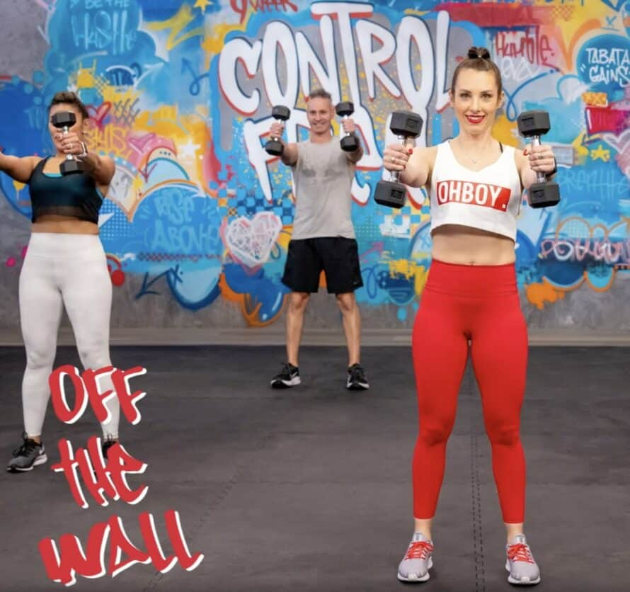 9 week control freak off the wall workout