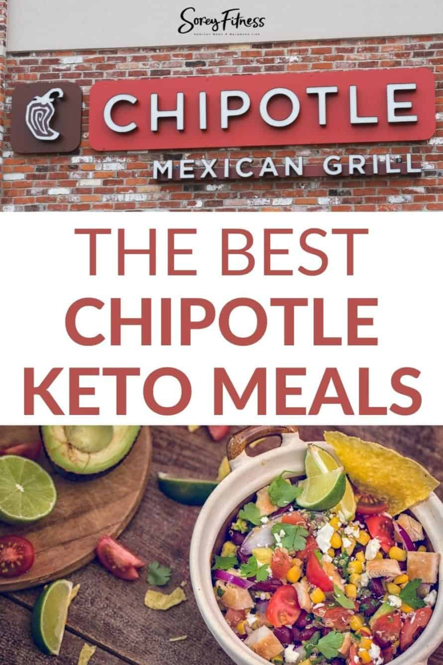 How to Easily Make Chipotle Keto Friendly pinterest image