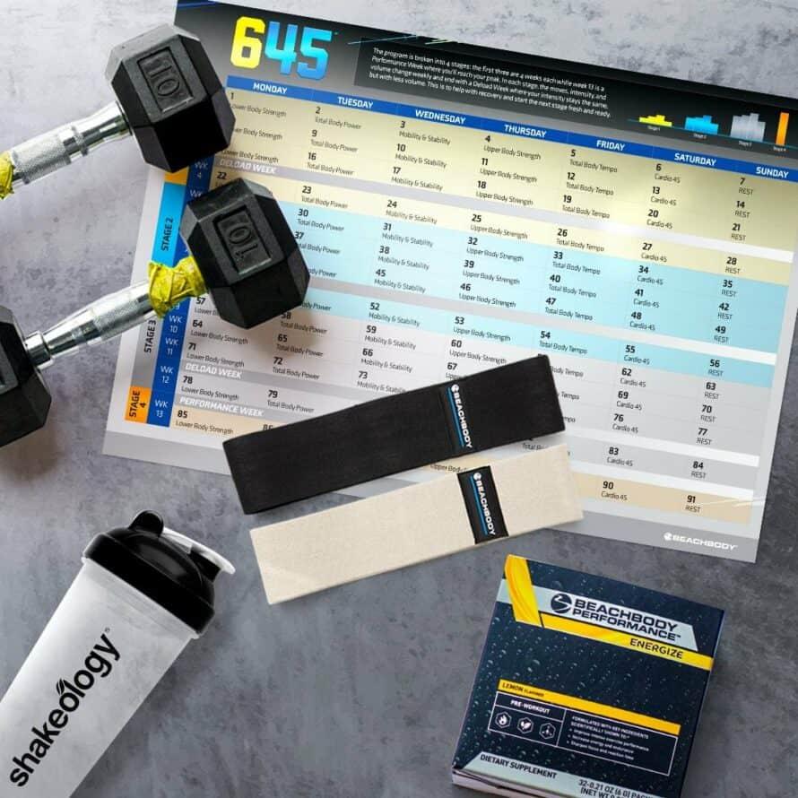 645 workout equipment