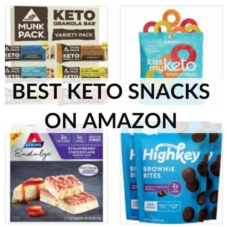 Best Keto Amazon Snacks to Buy in 2021
