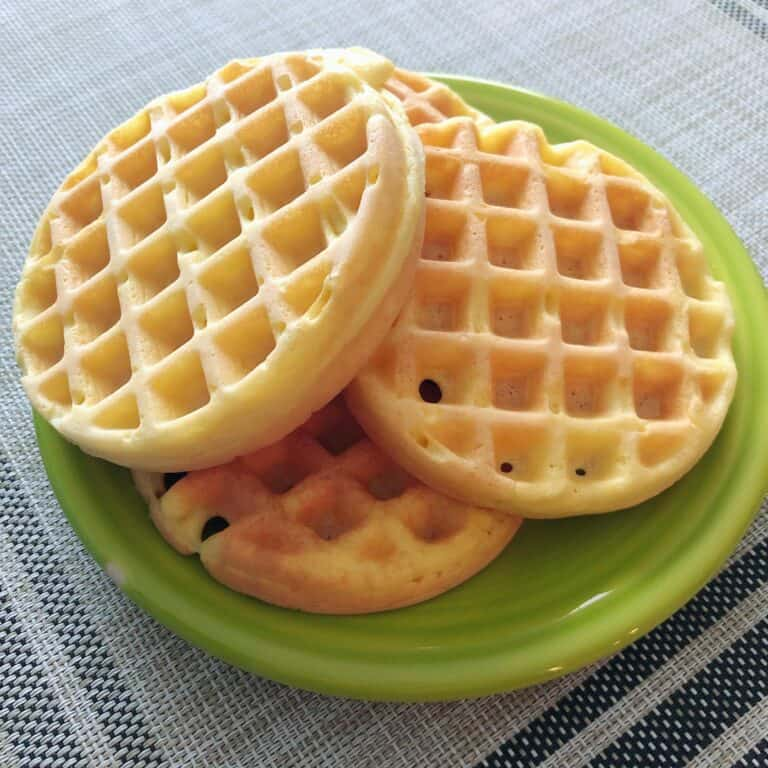 Keto Wonder Bread Chaffle Recipe (Easy & Soft)